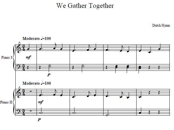 piano duet sheet music pdf