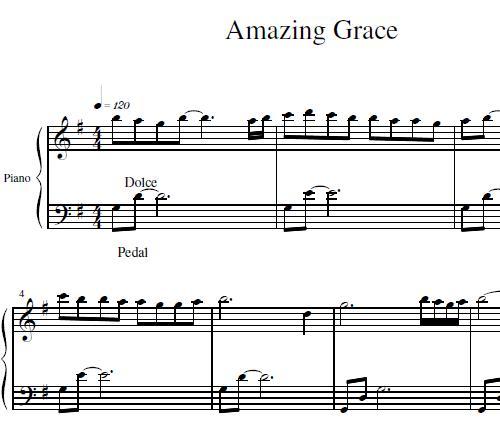 math worksheet : amazing grace piano sheet music free amazing grace ...