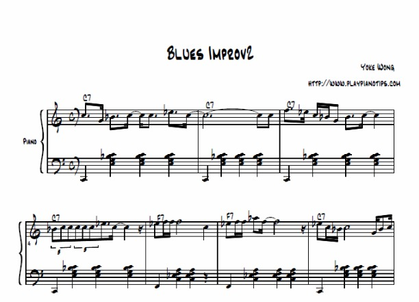 Piano : blues chords piano Blues Chords Piano and Blues Chords' Pianos