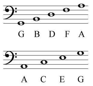 Notes On Bass Clef