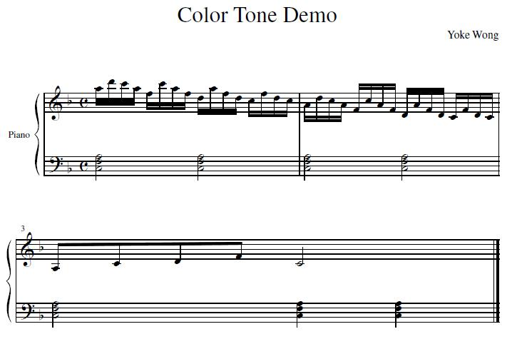 F Maj 6 Color Chord Piano Improvisation Piano Mother