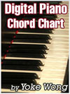 Digital Piano Chord Chart