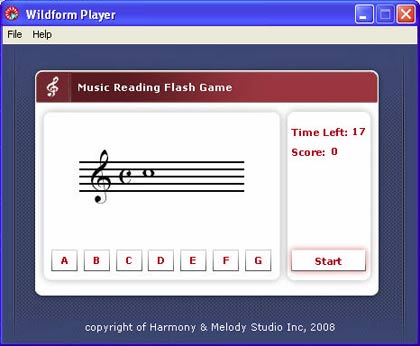 music sight reading exercises
