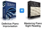 Definitive Piano Improv & Sight Reading Bundle (Downloadable)