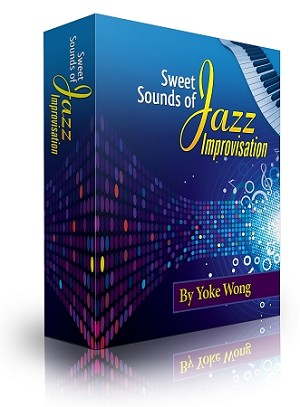 Sweet Sounds Of Jazz Improvisation (Downloadable Piano Lessons)