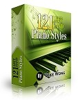 121 Left Hand Piano Styles (Downloadable Lessons)