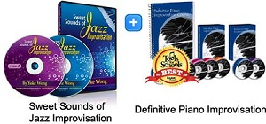 Jazz Improv & Definitive Piano Improv Bundle