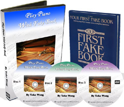 play piano with fake book lessons
