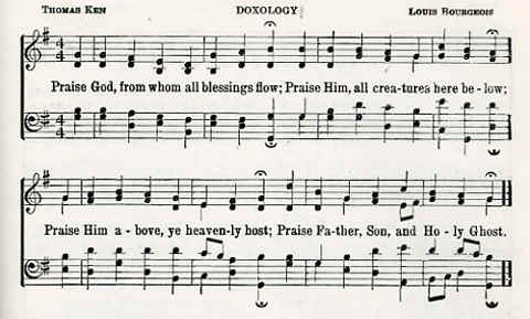 Doxology sheet music
