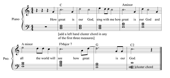 How Great is Our God piano sheet music