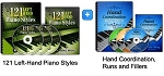 121 Left Hand Styles & Hand Coordination Bundle
