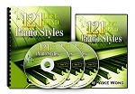 121 Left Hand Piano Styles (DVD Lessons) - 3 Monthly Payment Plan