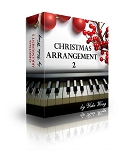Christmas Piano Arrangements Series 2 (Downloadable Piano Lessons)