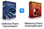 Definitive Piano Improv & Piano Accompaniment Bundle (Downloadable)
