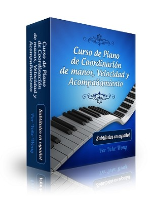 Hand Coordination, Runs and Fillers Piano Lessons in Spanish - Digital Downloadable