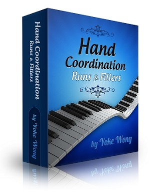 Hand Coordination, Runs & Fillers (Downloadable Lessons) - 3 Monthly Payment Plan