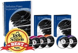 Definitive Piano Improvisation (DVD Lessons) - 4 Monthly Payment Plan